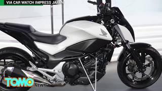 Future motorcycles  Honda self balancing Riding Assist tech keeps bike balanced   TomoNews