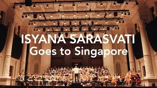 Isyana Sarasvati Goes to Singapore