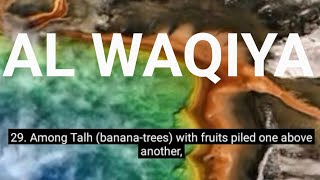 Surah Al Waqiya : As Sheikh Idris Abkar : With English Translation and others