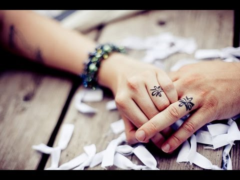 12 Coolest Wedding Ring Tattoo Designs AMAZING TATTOO IDEAS