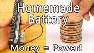 How to Make a Coin Battery