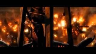The Hobbit - He hit the dragon!