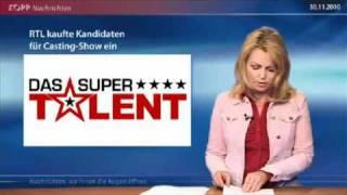 RTL kaufte Kandidaten für ihre Show SKANDAL