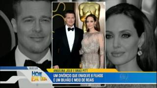 Conheça detalhes da separação de Angelina Jolie e Brad Pitt