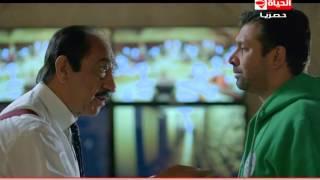 مسلسل وش تاني - مشهد كوميدي واقعي   يومك في الشغل مع المدير لما يخصملك