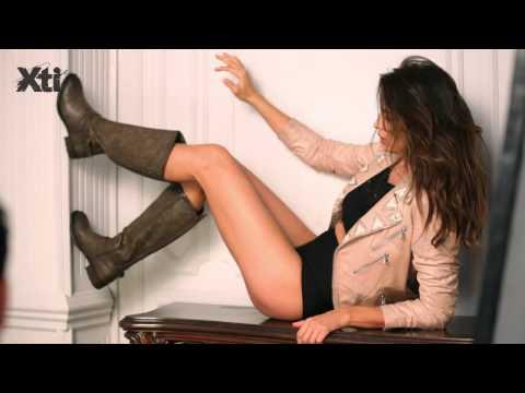 Making Of XTI with Irina Shayk Fall Winter 14/15