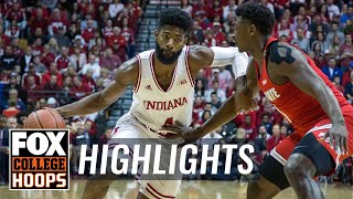 Ohio State vs Indiana | HIGHLIGHTS | FOX COLLEGE HOOPS