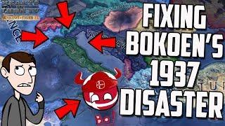 Fixing Bokoens Disaster HOI4 Savegame