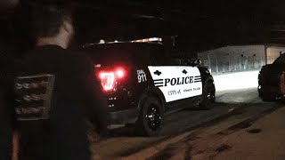 Cops came when I made a Launch Pad at the shop!!
