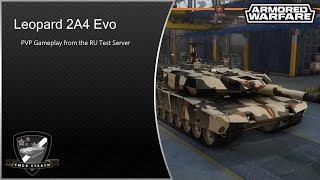 Armored Warfare (0.19) Leopard 2A4 Evo