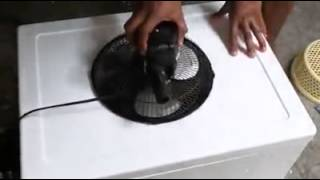 How to make your Home Ac with simple Fan
