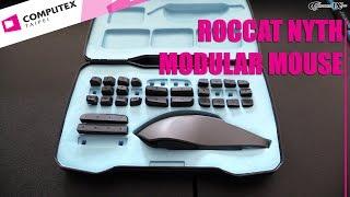 Computex 2015: Roccat Nyth Modular Customizable Gaming Mouse | Allround-PC.com