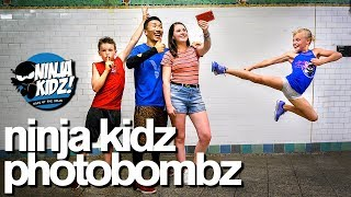 Ninja Kidz vs Ninja Kidz Photobomb Challenge