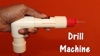 How To Make Drill Machine at home - EASY