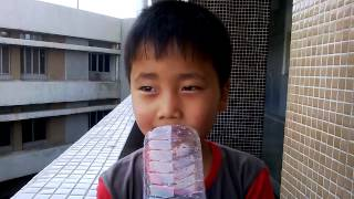 a Chinese boy singing a bollywood (hindi) song