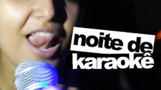 #gandaia: noite de karaokê