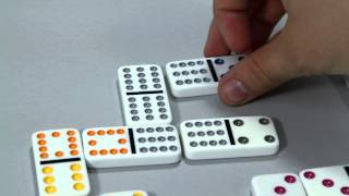 Ideal's Double 12 Dominoes with Tin (0X5412TL)