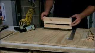 Building a Wooden Apple Crate for Wedding Centerpieces or Storage