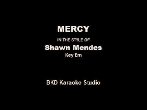 Download Mercy (In the Style of Shawn Mendes) (Karaoke with Lyrics)