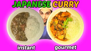 BEST Japanese CURRY!! (INSTANT vs GOURMET)