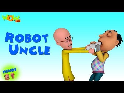 Xxx Mp4 Robot Uncle Motu Patlu In Hindi 3D Animation Cartoon As On Nickelodeon 3gp Sex
