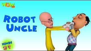 Robot Uncle- Motu Patlu in Hindi - 3D Animation Cartoon -As on Nickelodeon