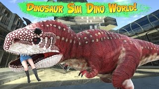 Dinosaur Simulator: Dino World 1.020 - gameplay