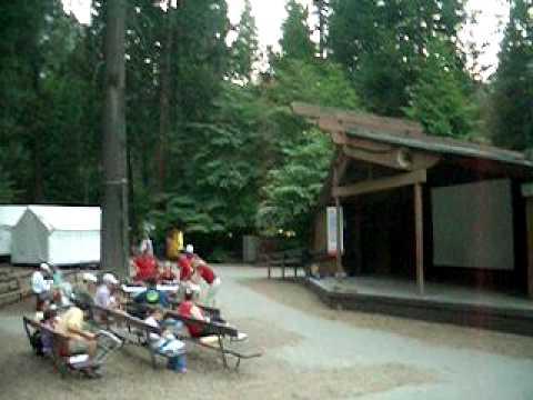 Cắm Trại tại Công Viên Quốc Gia Yosemite Cali USA he` 2007