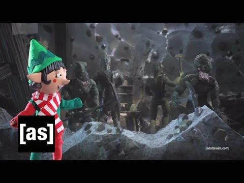 Elf Training Video Robot Chicken Adult Swim