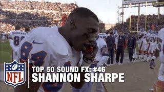 Top 50 Sound FX | #46: Shannon Sharpe Calls Mr. President | NFL