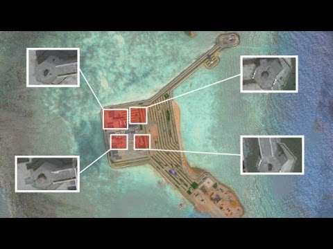 China: Military systems on islands for