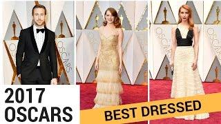 OSCARS 2017: Best Dressed Stars!