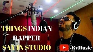 Things Indian Rapper Say In Studio|Rv Music