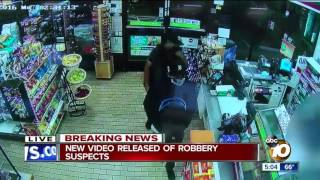 New video released of robbery suspects