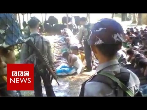 Xxx Mp4 Myanmar Police Officers Detained Over Rohingya Beatings Video BBC News 3gp Sex