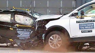 Small Car VS. Large Car – CRASH TEST