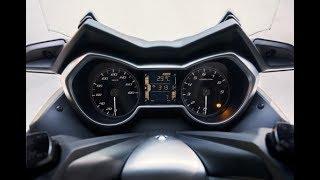 2017 Yamaha Xmax 300 0 -100 km/h Real Acceleration