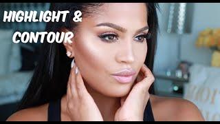 Highlight & Contour Tutorial   MakeupShayla