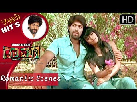 Radhika Pandith Love Romantic Scenes | Yash Kannada Full Movie | Kannada Scenes | Yash