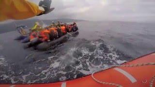 Sea-Watch emergency boarding December 16th 2015