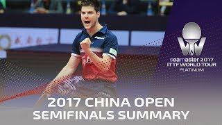 2017 China Open | Semi Finals summary