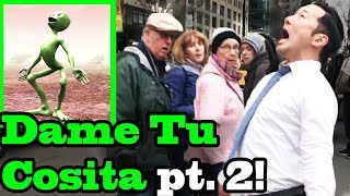 Dame Tu Cosita Challenge (THE NEW VERSION!!) IN PUBLIC!!!