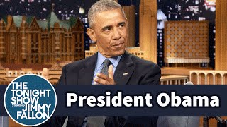 President Obama Talks Staying in DC after His Term Ends