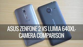 ASUS Zenfone 2 vs Lumia 640XL- Camera Comparison | Techniqued