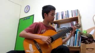 (raisa) Terjebak Nostalgia - Marko Savana (classical Guitar)