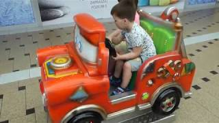 Playground for kids Playing car Baby video