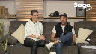 #SagaLive - Kika Edgar y Diego Dreyfus