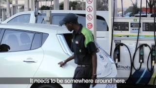 Nissan Leaf steals the show