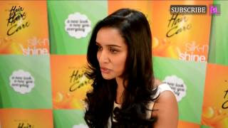 Shraddha Kapoor endorsing Hair and Care hair oil
