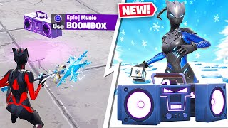 *NEW* FORTNITE STEADY STORM & BOOMBOX GAMEPLAY! (LIVE)